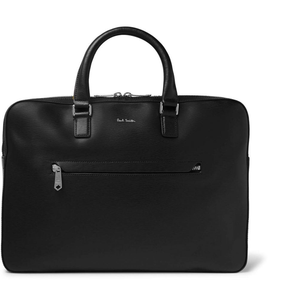 Paul Smith textured leather briefcase