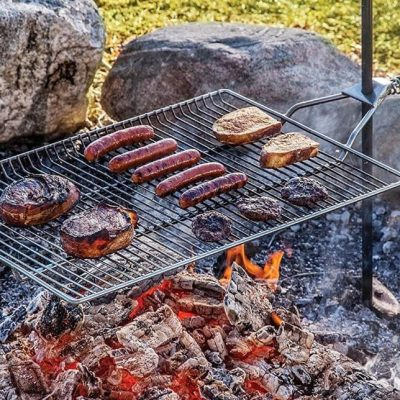 9 Best Campfire Grill Grates for Camping Cooking