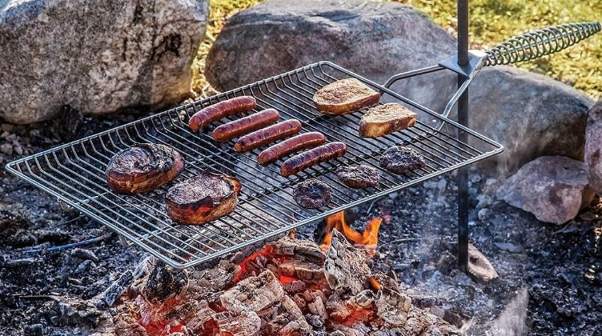 Best Campfire Grill Grates for Camping Cooking